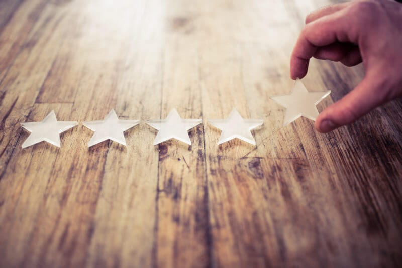 knowledge management for customer service earns five star rating