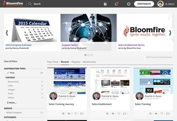 Bloomfire Secures $12.8 Million in Series B Funding to Fuel Growth in the Knowledge Sharing Software Market