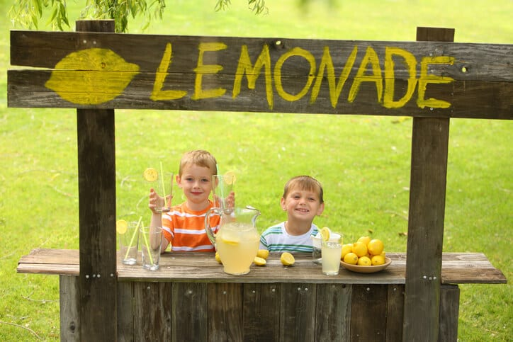 lemonade stand represents best practices for enabling your sales team