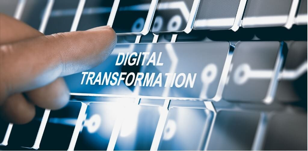 Converting info into digital format, also called Digitization of business.