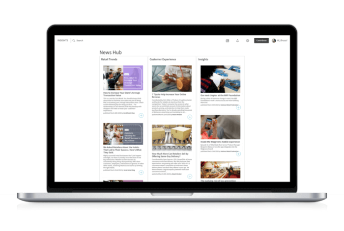 Bloomfire News Hub