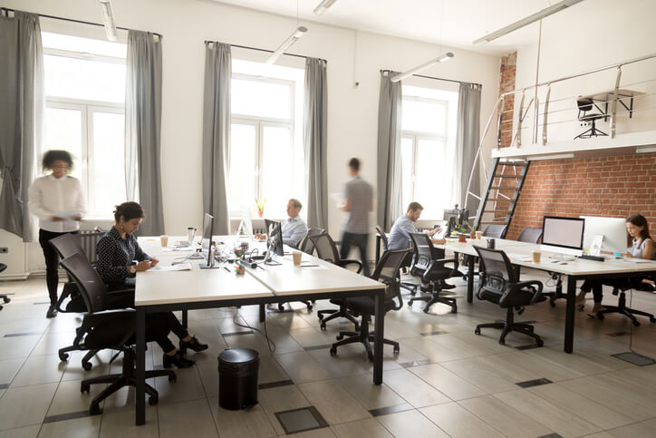 open office democratized knowledge concept