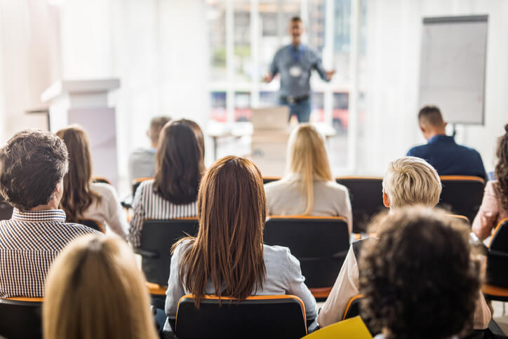 workplace seminar represents way to invest in employee training