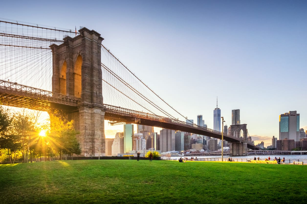 View of Brooklyn Bridge for 2020 Quirk's Event in Brooklyn