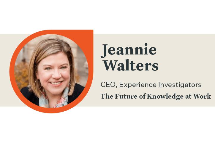 Jeannie Walters CX expert Q&A banner