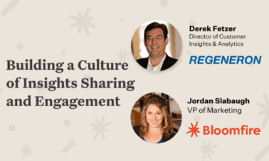 Webinar: Building a Culture of Insights Sharing and Engagement